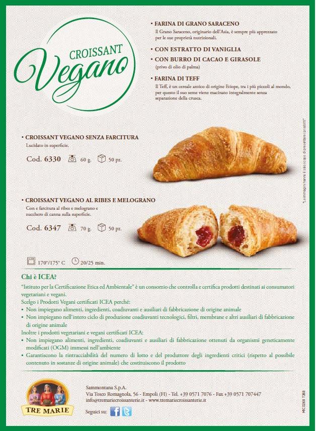 Cornetti Vegani Tre Marie Ingrosso Alimentare Valle Daosta E Canavese