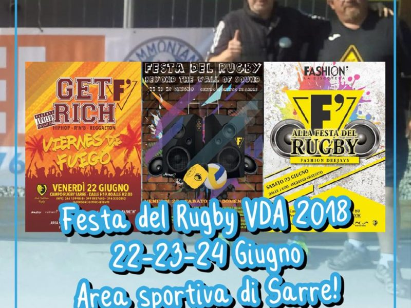 Festa del Rugby VDA 2018