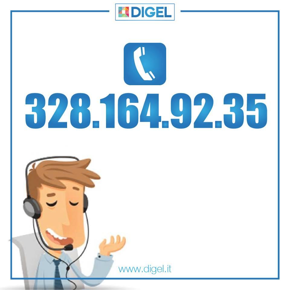 Linea fissa guasta: contattaci al 328/1649235