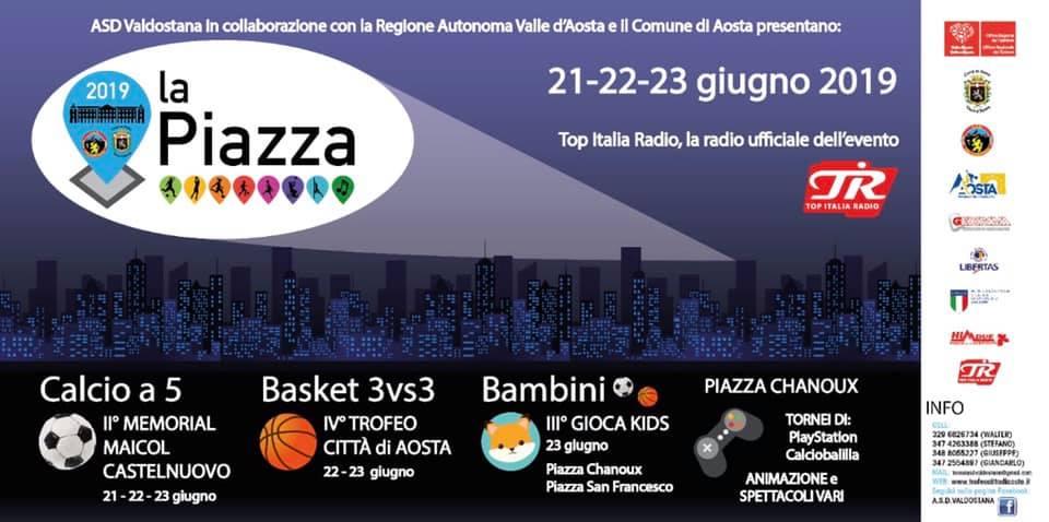 La Piazza Aosta – II° Memorial Maicol Castelnuovo