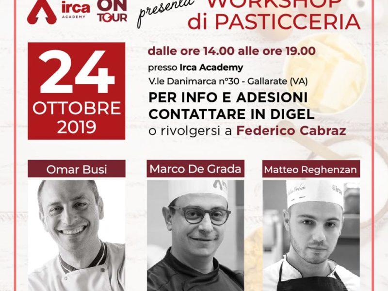 Workshop di Pasticceria by Irca Academy