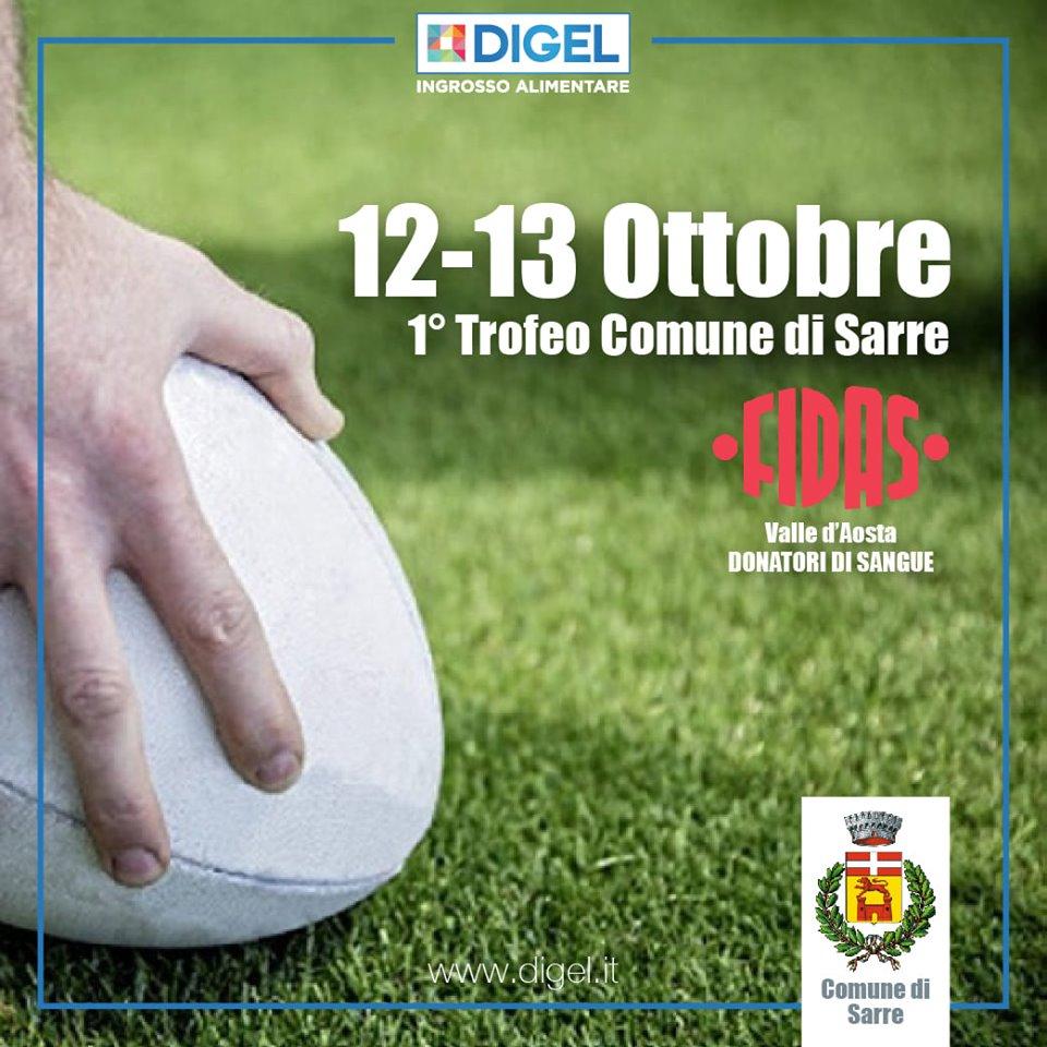 1° Trofeo di Rugby a Sarre