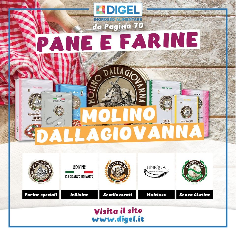Pane e Farine Molino Dallagiovanna!