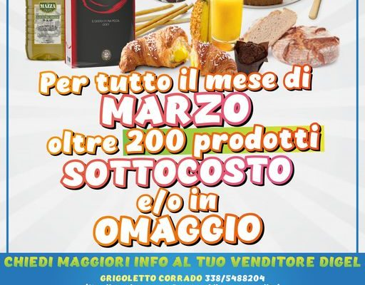 sottocosto ingrosso prodotti alimentari valle d'aosta digel